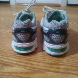 Asics Shoes - Asics gel enhance ultra women size 7 green gray